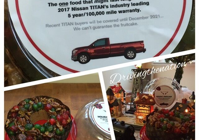 Nissan Titan warranty lasts longer than a fruitcake