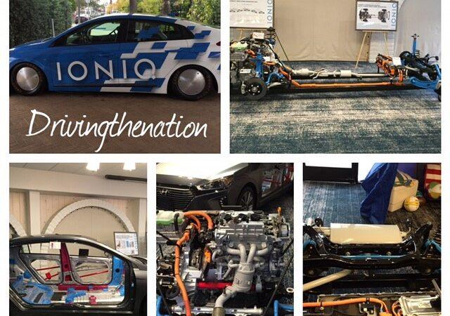 Hyundai Ioniq hybrid, plug-in hybrid, or electric vehicle
