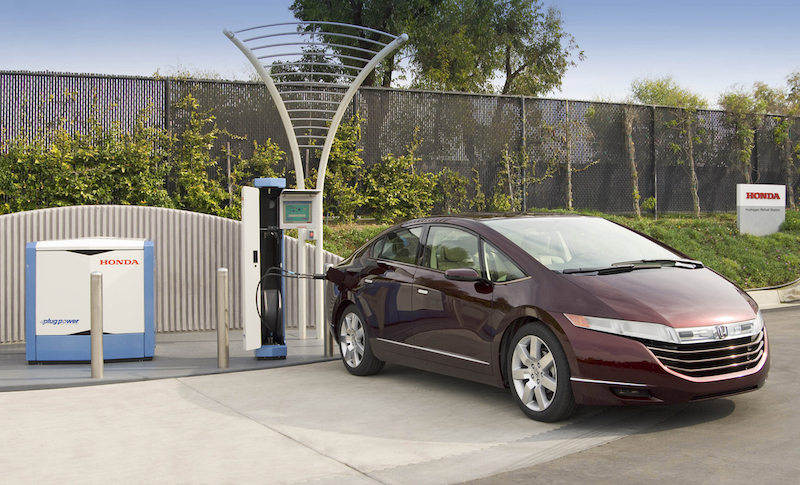 2017 Honda Clarity Fuel Cell Vehicle Fcx Driving The Nation