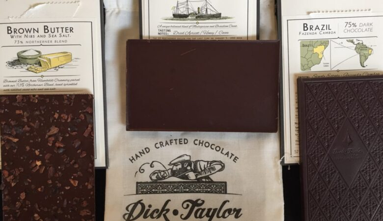 Dick Taylor Roasted Chocolate bars