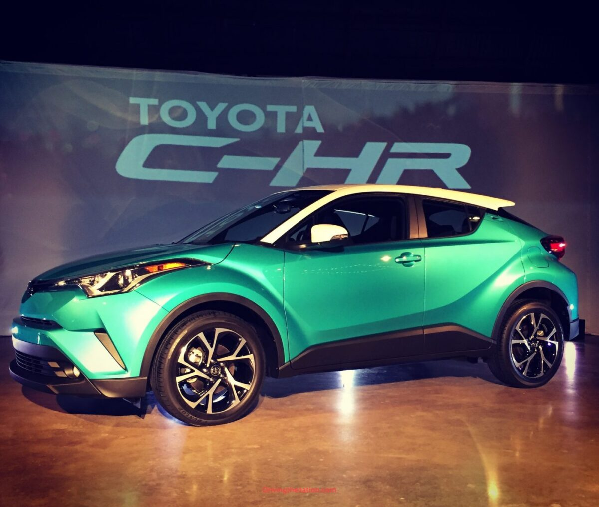 2018 Toyota C-HR racing Circuit of the Americas (COTA)