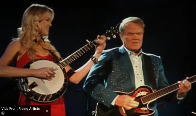 Glen and Ashley Campbell - I'll be me - courtesy: youtube video