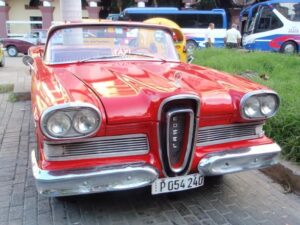 edsel_ken_gross-300x225 Classic cars, culture, and coffee in Cuba Automobiles and Energy Classic cars Travel Travel & Leisure