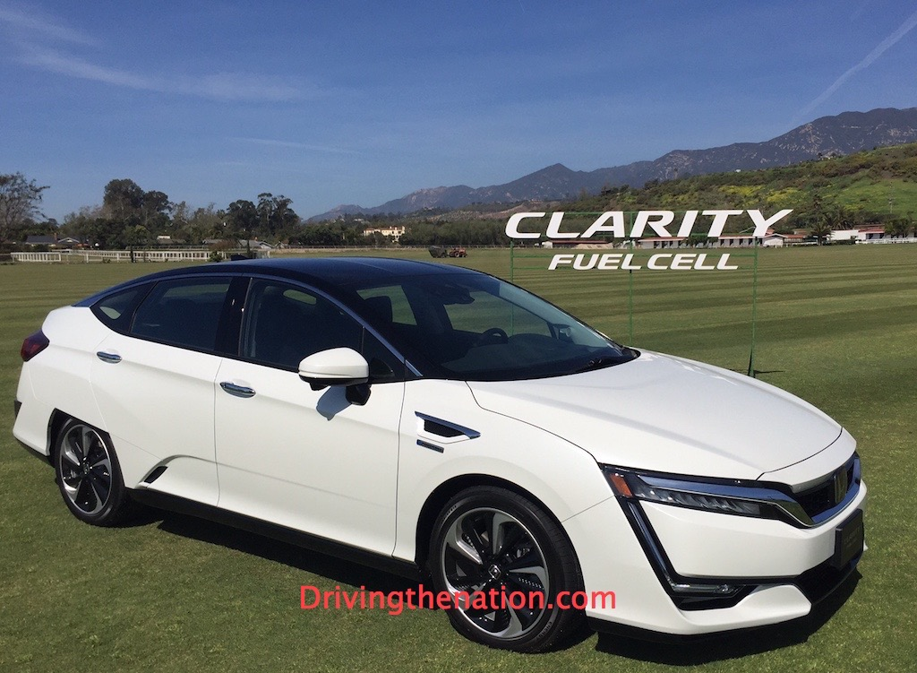 View Larger Image Honda Clarity Fuel Cell