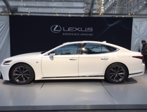 2018 Lexus LS 500 F-Sport Debuts in New York