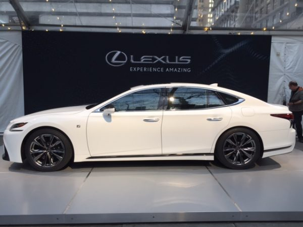2018 Lexus LS 500 F-Sport Debuts in New York