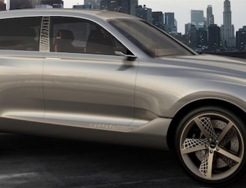 Genesis GV80 SUV concept with Andra Day NYIAS