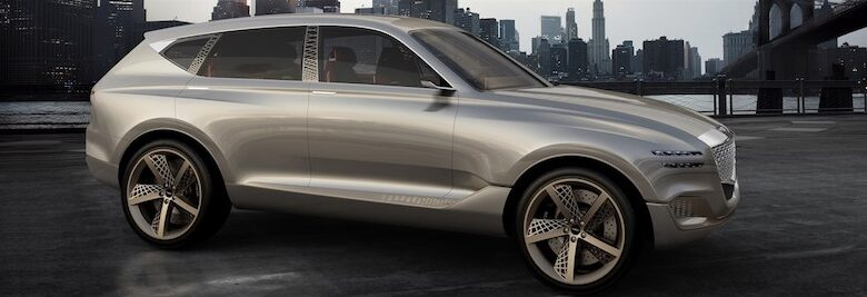 GENESIS REVEALS GV80 FUEL CELL CONCEPT SUV AT NEW YORK INTERNATIONAL AUTO SHOW