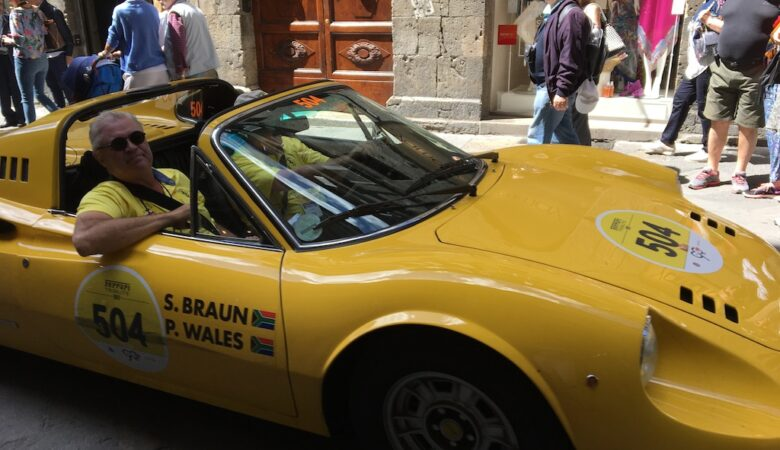1,000 miles of cars, the Mille Miglia 2017