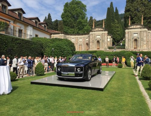Coach-built Rolls-Royce 08 unveil at Villa d'Este
