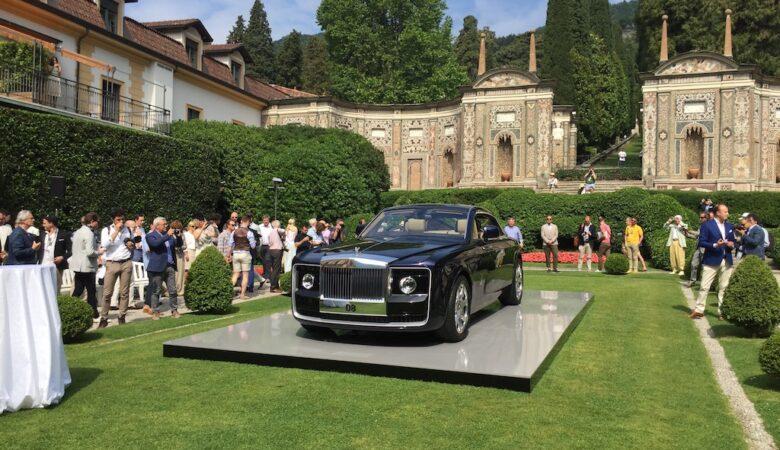 Rolls-Royce sweptail 08 unveil at Villa d'Este