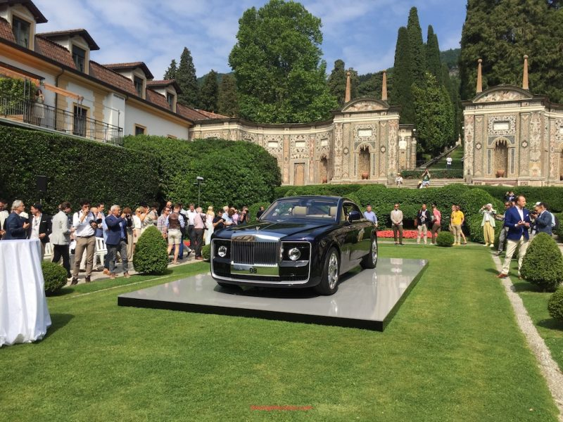 Rolls-Royce sweptail 08 unveil at Villa d'Este