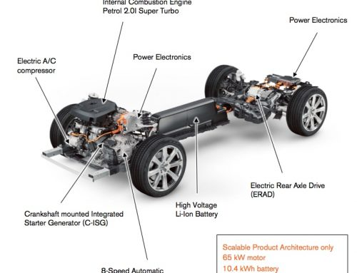 Volvo keeps options open for battery, plans 3-cyl