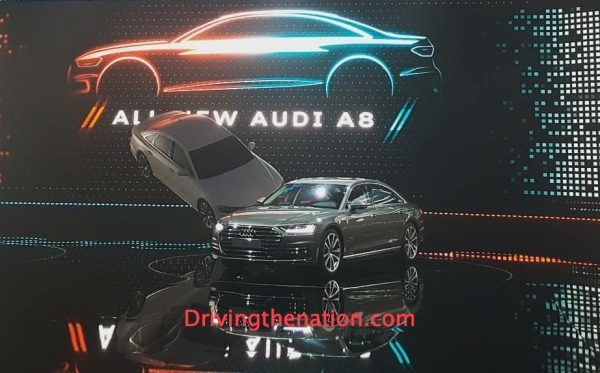 2018 Audi A8 at the Audi Summit