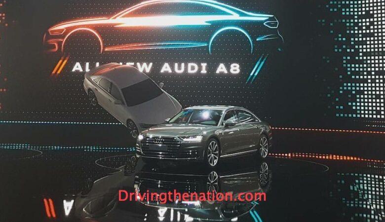 2018 Audi A8 at the Audi Summit