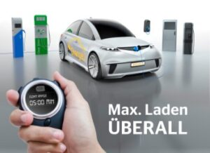 Innovative charging technology turns electric powertrain into 'universal charger' catering to all types of cable-based charging station. Now, at every charging station maximum charging is possible.