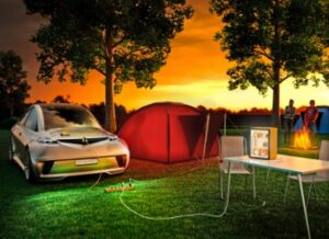 Continental_AllCharge_Camping-300x218 Technology World Premieres at Frankfurt auto show (IAA) Automobiles and Energy Frankfurt Auto Show (IAA) Technology