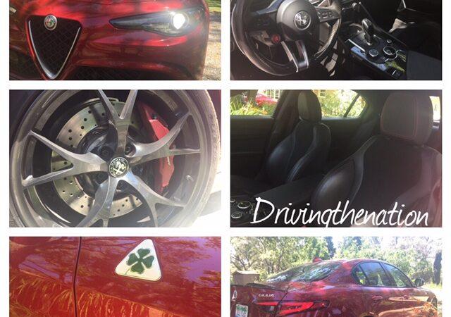 Alfa Romeo Giulia Quadrifoglio RWD four-door sedan