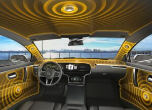 Continental's speaker-less audio system