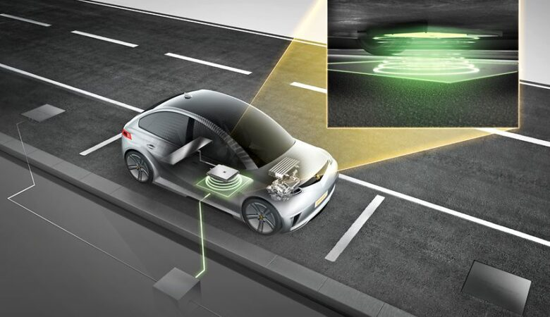 Continental Inductive charging technology, plugless power for electric vehicles