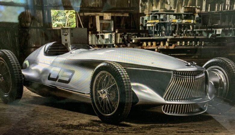Infiniti electric concept Prototype 9