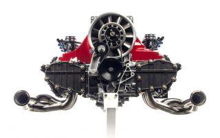 Gunther Werks 400 R engine