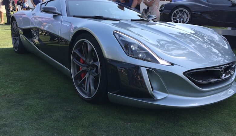 Fastest electric Supercar Rimac Concept One