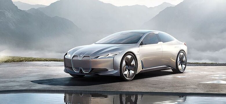 BMW's Ian Robertson unveils vehicles at IAA2017