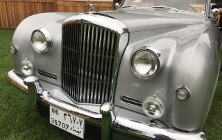 Saddam Hussein stolen Bentley restored