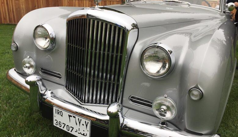 Saddam Hussein stolen Bentley restored