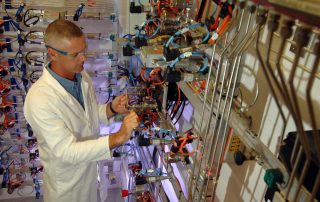 Synthetic fuels can be added to conventional fuels