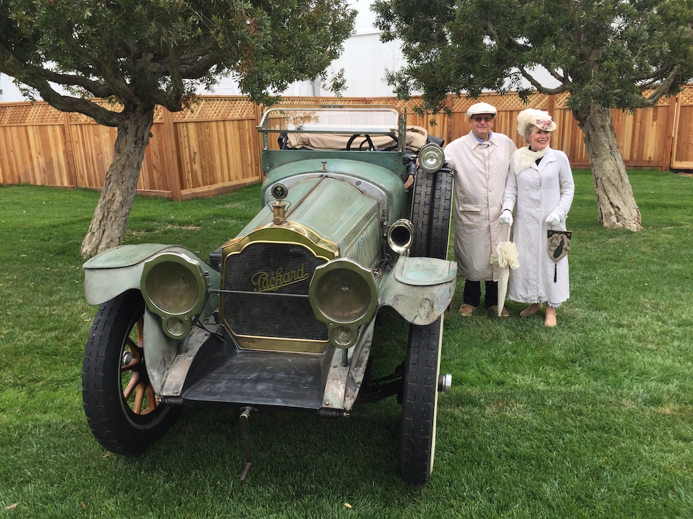 1915 Carl Fisher Packard at Pebble Beach