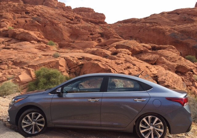 2018 Hyundai Accent in Las Vegas, NV Valley of the Fire
