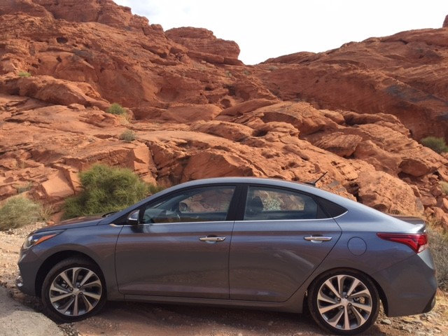 Hyundai rocks SEMA and Valley of the Fire