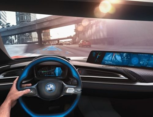 BMW autonomous driving car technology