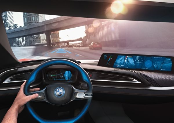 BMW i Vision - the blue means automated driving BMW Group Future Interaction with BMW Connected