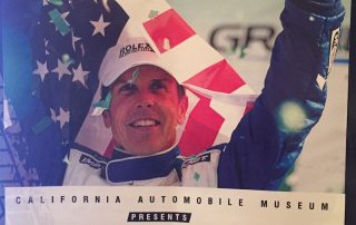 Scott Pruett honored at charity event at California Auto Museum