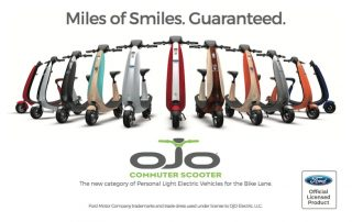 2018 Ford OJO Electric Scooters at CES