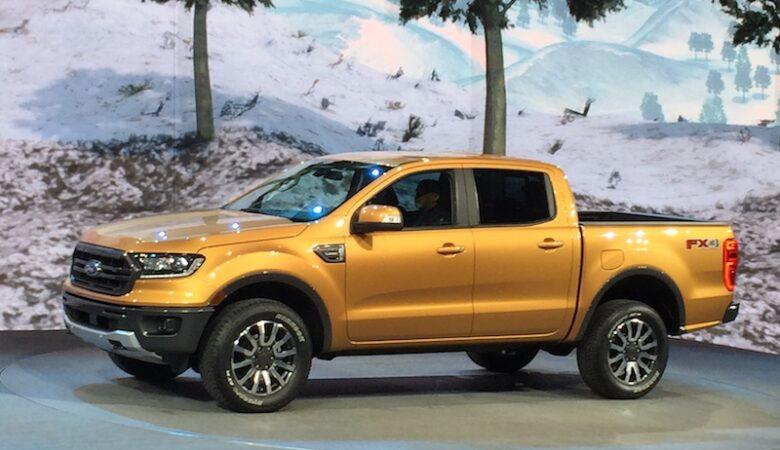 NAIAS - Small pickups are big - Ford Ranger