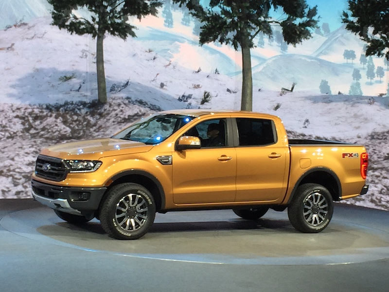 NAIAS - Small pickups are big - Ford Ranger