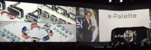 Toyota Motor Corporation President Akio Toyoda announced a new mobility service business alliance