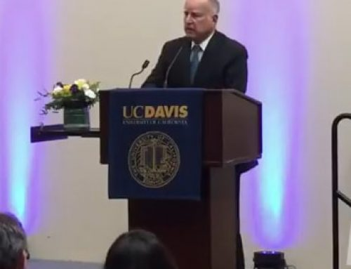 Gov. Brown on CARB – to the Sun and back
