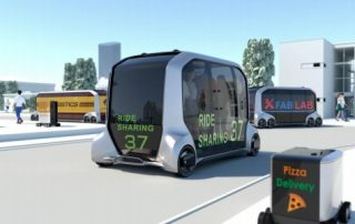 Toyota e-Palette changes the moving space concept