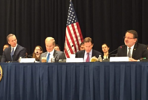 Washington Auto show hosts Senate hearing