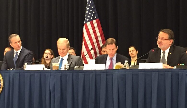 Washington Auto show hosts Senate hearing