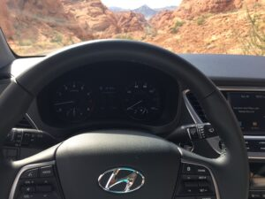 2018_hyundai_accent_steering-300x225 2018 hyundai accent review - first drive Automobiles and Energy Hyundai