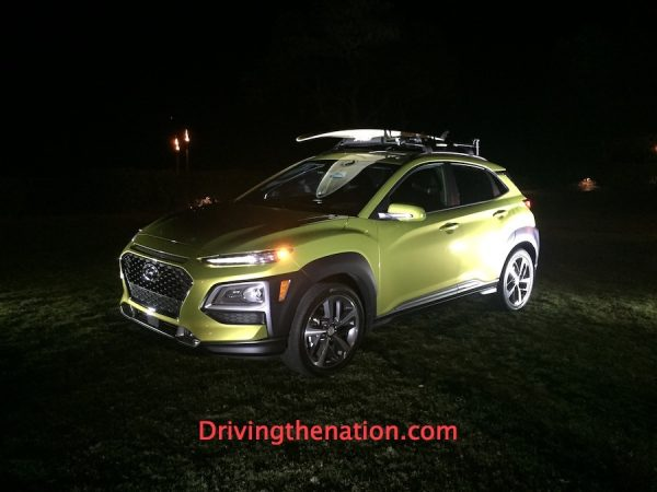 2018 Hyundai Kona drinking Kona on Kona