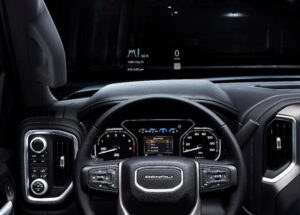 2019_gmc_sierra_denali_dash-300x215 2019 GMC Sierra Denali, building on the best Automobiles and Energy GMC
