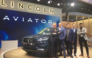 Lincoln Aviator Band of Brothers car designers