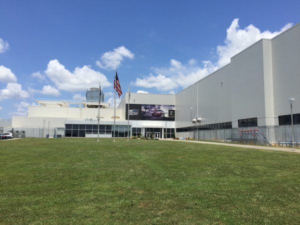 BMW employs 10,000 people at the Spartanburg, SC plant